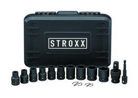 """STROXX - Slagtoppesæt 1/2""""  - 14 dele"""