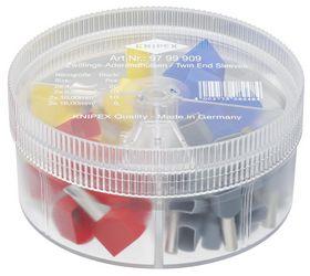 Knipex - Sortimentboks m/Twin-kabeltyller, 50 af hver