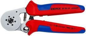 Knipex - Crimptang til miniaturestik bruneret 190 mm
