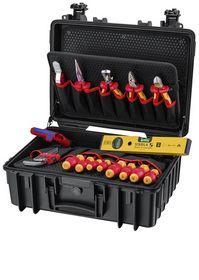 Knipex - Værktøjskuffert Robust23 Start, 24 dele