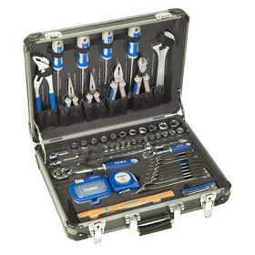 Irimo - Aluminiumskuffert med 97 værktøjer