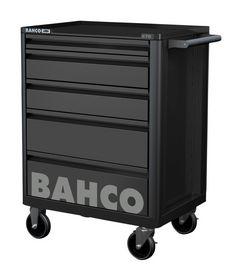 Bahco - Værktøjsvogn E72 sort m/5 skuffer