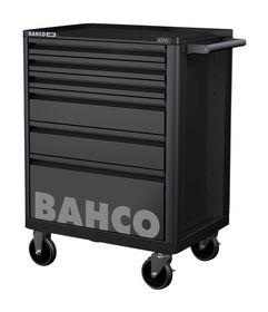 Bahco - Værktøjsvogn E72 sort m/6 skuffer