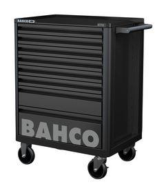 Bahco - Værktøjsvogn E72 sort m/8 skuffer