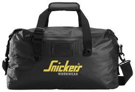 Snickers - Taske 9626 Vandtæt Sort 30L