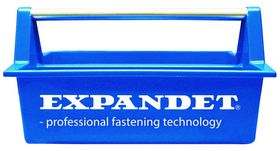 Expandet - Værktøjskasse åben