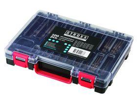 STROXX - Borsæt HSS cobolt 1-10mm / 0,5mm slebet, 100 dele