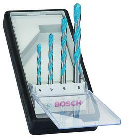 Bosch - Borsæt MULTI Robustline 4-8mm 4 stk