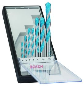 Bosch - Borsæt MULTI Robustline 4-12mm 7 stk
