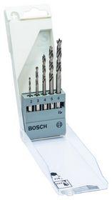 Bosch - Træborsæt 1/4 6-KANT Ø2-3-4-5-6mm 5 stk
