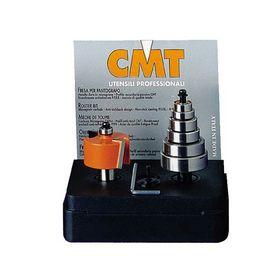 CMT - Falsfræsersæt med kugleleje