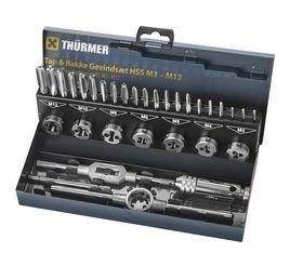 Thürmer Tools - Gevindskærersæt 31 dele