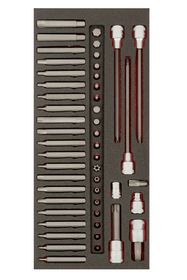Bahco - Bitssæt FIT&GO BE5049 TORX, XZN, HEX 49 dele