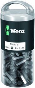 Wera - Bits 851/1 Z DIY PH2 - 25mm á 100 stk