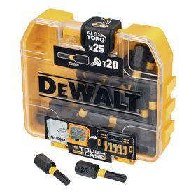 DeWALT - Bits DT70557 Torsion Tx20 25mm á 25 stk