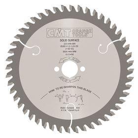 CMT - Rundsavklinge TF Neg Chrom
