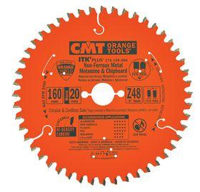 CMT - Rundsavklinge 160x1,8x20 Z48 Neg Alu