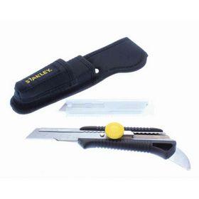 Stanley - Kniv MPO 18 mm med hage og skede