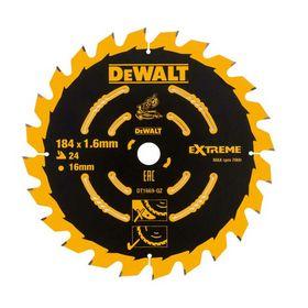 DeWALT - Rundsavklinge 184x1,6x16 z24 træ