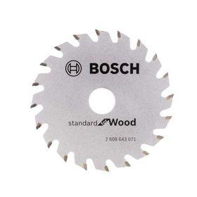 Bosch - Rundsavklinge 85x15 Træ