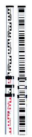 Leica - Stadie m/cm inddeling/stregkode 5 m