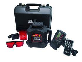 STROXX - Rotationslaser fuldauto. Rød m/trefod og laserstadie