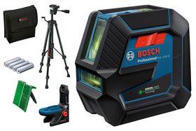 Bosch - Krydslaser grøn gcl 2-50/rm10/bt150