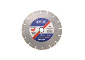 BASIXX - Diamantklinge universal åben 230x22,23 mm