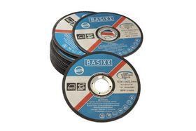 BASIXX - Skæreskive plan t/stål+RS 125x1,0x22,2mm à 25 stk
