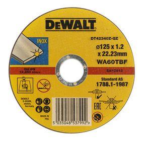 DeWALT - Skæreskive DT42340 Ø125 X 1,2mm Inox á 10 stk