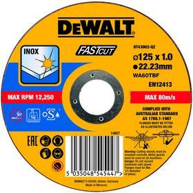 DeWALT - Skæreskive DT43902 tynd Ø125x1,0mm
