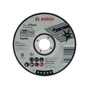 Bosch - Skæreskive best*** plan til stål/rs