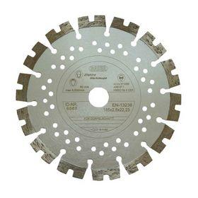 BAIER - Diamantskive 185 mm sølv