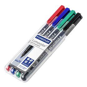 Staedtler - Universal pen Lumocolor 1mm 4 farver
