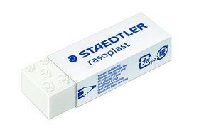 Staedtler - Viskelæder Rasoplast, 65x23x13mm Hvid