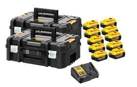 DeWALT - Batteri XR DCB182PAK 4,0 Ah 10-pak