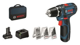 Bosch - Bore-/skruemaskine GSR 12V 2,0/4,0 Ah