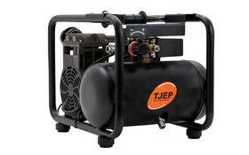 Tjep - Kompressor 6/10-2 Silent 2 cylinder, 6 ltr. tank