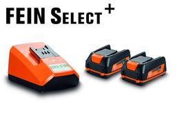 FEIN - Batteri 12V sæt 2 x 3,0 Ah + lader