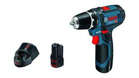 Bosch - Skruemaskine GSR 12V 2X2AH