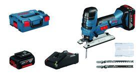 Bosch - Stiksav GST 18 V-LIS 2X4,0AH L-BOXX