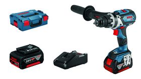 Bosch - Bore-/skruemaskine GSR 18V-110 C 2X5,0AH GAL 1840 L-BOXX