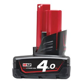 Milwaukee - Batteri M12 B4