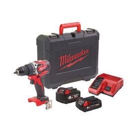 Milwaukee - Slagboremaskine M18 cblpd-422c 1x4,0 + 2,0 Ah, 18V
