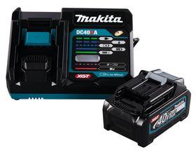 Makita - Batterisæt 40V 1XBL4040 m/oplader DC40RA