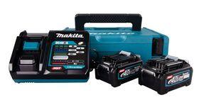 Makita - Batterisæt 40V 2XBL4040 m/oplader DC40RA