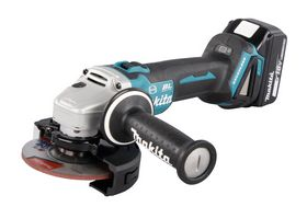 Makita - Vinkelsliber 125mm 18v 5,0Ah