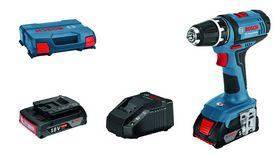 Bosch - Bore-/skruemaskine 18 V GSR 18-2 LI 2x2 L-BOXX