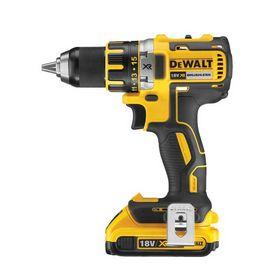 DeWALT - Bore-/skruemaskine 18 V XR-kompakt DCD790D2 2,0 Ah