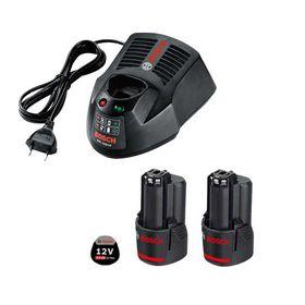 Bosch - Oplader og batteri 12V/3,0Ah